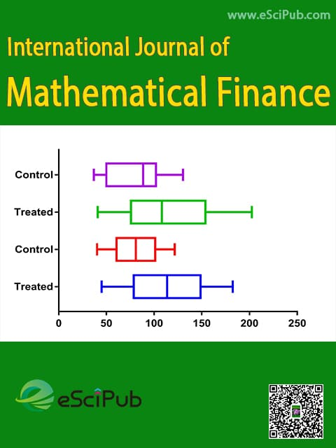 International Journal of Mathematical Finance23