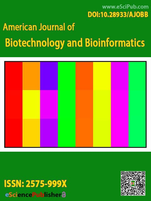 American Journal of Biotechnology and Bioinformatics