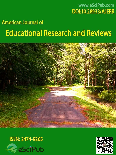 American journal of educational research and reviews