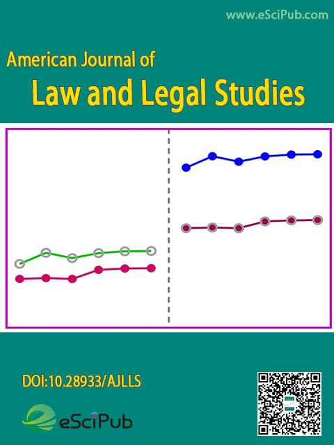 American Journal of Law and Legal Studies