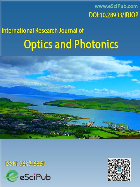 International Journal of Optics and Photonics