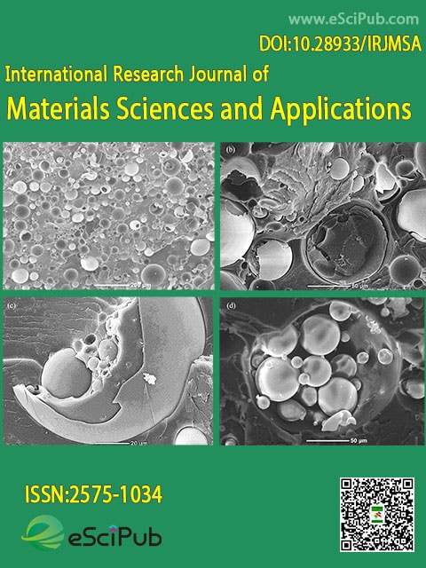 International Research Journal of Materials Sciences and Applications