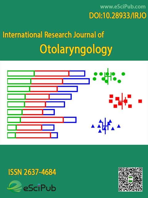 International Research Journal of Otolaryngology