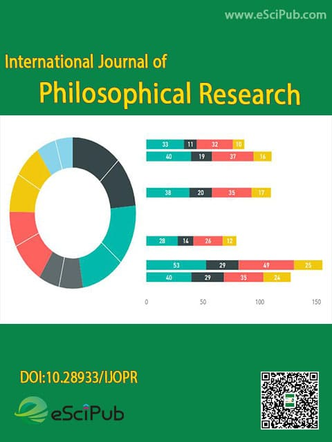 International Journal of Philosophical Research